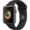 APPLE Watch 3 - 42 - Alu noir / Bracelet Sport noir