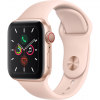 APPLE Watch 5 - 40 - Cellular - Alu or / Bracelet Sport Rose des sables