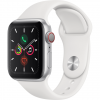 APPLE Watch 5 - 40 - Cellular - Alu argent / Bracelet Sport Blanc