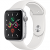 APPLE Watch 5 - 44 - Alu argent / Bracelet Sport Blanc