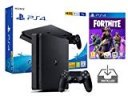 PS4 Slim 1To Console Playstation 4 Noir Pack + Fortnite