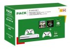 Pack Fnac Console Microsoft Xbox One S 1 To Blanc + 2ème manette + The Division 2 + Sea Of Thieves + Carte Cadeau Xbox 50 + 3 mois de Live Gold