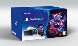 Pack Sony PlayStation VR avec Casque VR + Caméra + VR Worlds (Voucher)