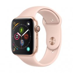 APPLE Watch Series 4 - 44mm - Alu Or / Bracelet Sport Rose des sables