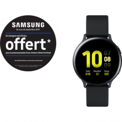 Samsung Galaxy Watch Active2 - 44 mm - Alu Noir