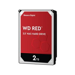 Western Digital WD RED 2 To - 3.5'' SATA III 6 Go/s - Cache 256 Mo - Rouge