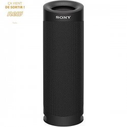 SONY SRSXB23B Enceinte Bluetooth - Autonomie 12h - Splash proof - Noir