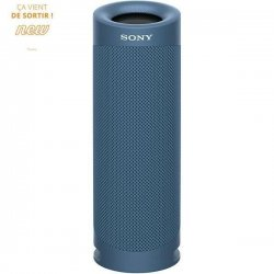 SONY SRSXB23L Enceinte Bluetooth - Autonomie 12h - Splash proof - Bleu