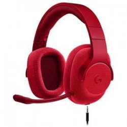 LOGITECH Micro Casque Gamer G433 Rouge - Pour PC, PS4, Xbox One et Nintendo Switch