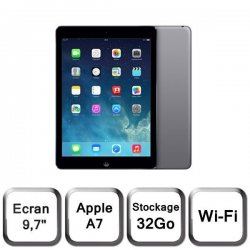 Apple iPad Air 32Go Wi-Fi Gris Sidéral