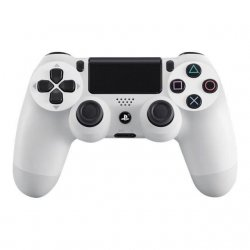 Sony Dual Shock 4 Gamepad sans fil Bluetooth Blanc glacier pour Sony PlayStation 4