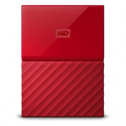 WESTERN DIGITAL MY PASSPORT 1 To 2.5'' USB 3.0 Rouge