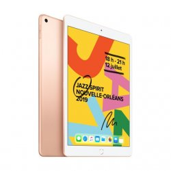 APPLE iPad 2019 10,2 - 128 Go - WiFi - MW792NF/A - Or