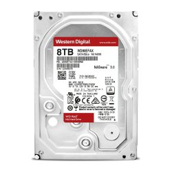 Western Digital WD RED 8 To - 3.5'' SATA III 6 Go/s - Cache 128 Mo - Rouge