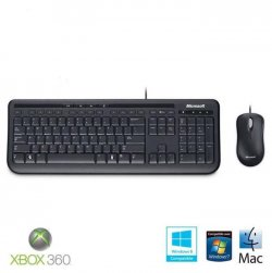 Microsoft Wired Keyboard 600 Noir + souris