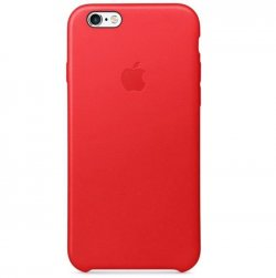 Apple Coque en cuir pour iPhone 6/6s - (Product)Red - Rouge