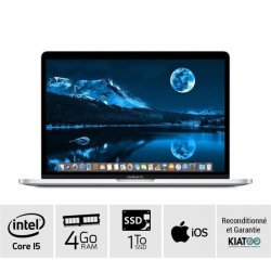 MACBOOK PRO 13 pouces Gris core i5 4 go ram 1 To SSD disque dur clavier AZERTY