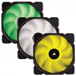 CORSAIR Ventilateur SP120 RGB - Diamètre 120mm - LED RGB - Contrôleur Fourni - Triple Pack (CO-9050061-WW)