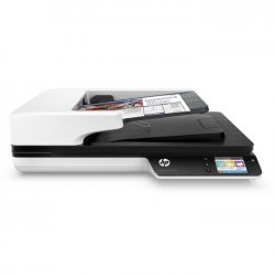 HP INC Scanner Scanjet 4500 FN1 - A plat, A défilement - Couleur - RJ45, Wi-Fi, USB 3.0 - RectoVerso - A4