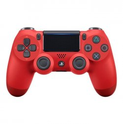 Sony Dual Shock 4 v2 - Gamepad - sans fil - Bluetooth - rouge magma - pour Sony PlayStation 4