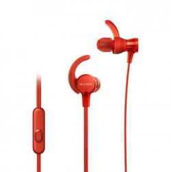 SONY - Ecouteurs sport intra-auriculaires EXTRA BASS™ XB510AS - Rouge
