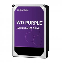 WESTERN DIGITAL Disque dur WD Purple WD82PURZ - 3.5- Interne - 8 To - SATA (SATA/600) - 7200trs/mn - Buffer 256 Mo