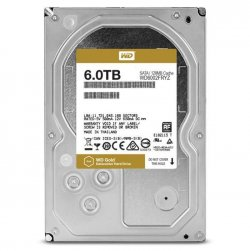 WD Disque dur interne Gold - 6To - 128Mo - 3.5