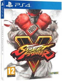 Street Fighter V Edition Steelbook PS4